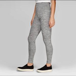 a new day Heather Gray Cozy High Waist Leggings S